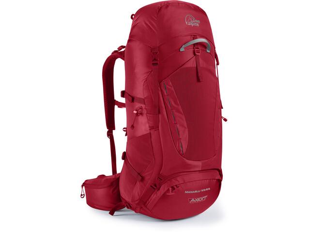 c2646b303dae5 Lowe Alpine Manaslu 55 65 Plecak Mężczyźni czerwony